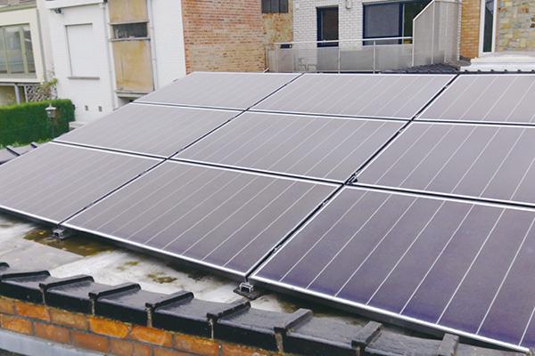Sint-Lievens-Houtem solar module project